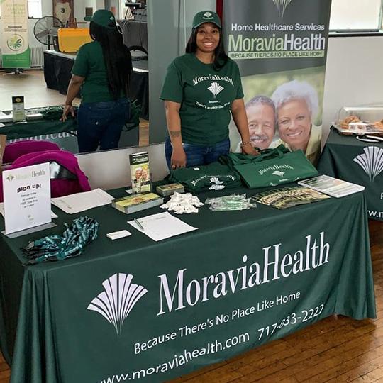 Moravia Health philadelphia health fair