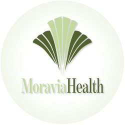 Moravia Health circle logo